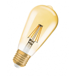 LED VINTAGE FIL/GOLD 7.5W/2500 ST64