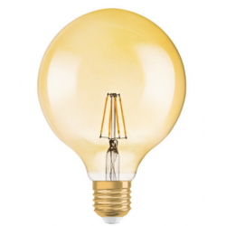 LED VINTAGE FIL/GOLD 6.5W/2400K GLOBE REGULAVEL